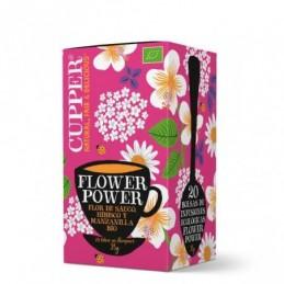 Infusión Flower power BIO Cupper 20 bolsas