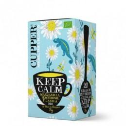 Infusión Keep Calm BIO Cupper 20 bolsas