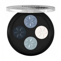 Sombra de ojos cuatro blue Lavera