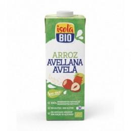 Bebida de arroz y avellana Soy Isola Bio 1L