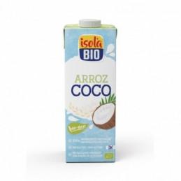 Bebida de arroz y coco BIO Soy Isola Bio 1L