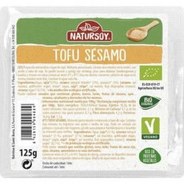 Tofu con sésamo NaturSoy 125g