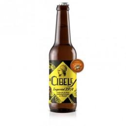 Cerveza imperial IPA La Cibeles 330mL