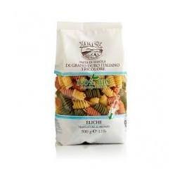 Hélices de pasta tricolor Iris 500g