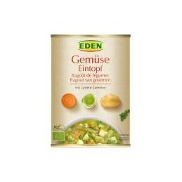 Estofado de verduras ecológico en lata Eden 560G