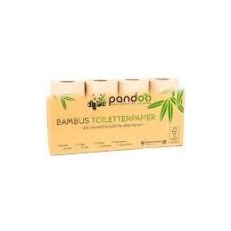 Rollos de papel higienico Bambú 8 Rollos Pandoo