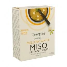 Sopa Miso y Tofu  4X10gr Clearspring 40gr