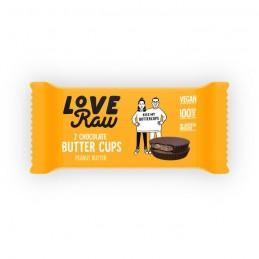 Love Raw Butter cups  Peanut 34gr 2uni