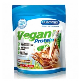 Vegan Protein Chocolate Quamtrax 500g