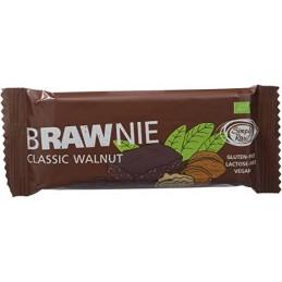 Barrita plátano y cacao Brawnie 45g