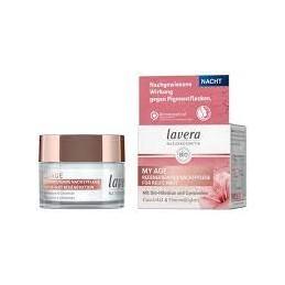 Crema de noche regenerante para piel madura Lavera 50ml