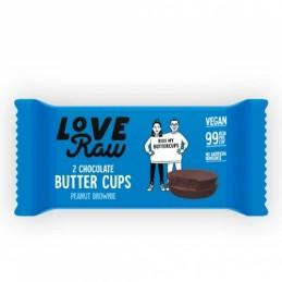 Brownie de cacahuete Love Raw 2X34gr