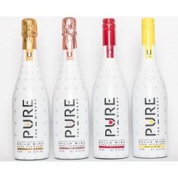 Pure vino espumoso blanco 10,5% de alcohol 750ml