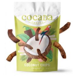 Cocada snacks de coco sabor chocolate 40gr