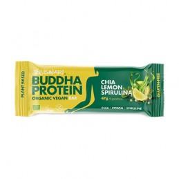 Barrita de proteína BUDHA chía, limón y espirulina Iswari 47g
