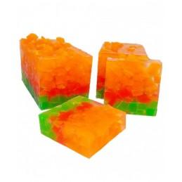 Jabón solido aroma Mandarina 100gr DEUNAPIEZA