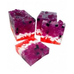 Jabón solido aroma Frutos Rojos DEUNAPIEZA