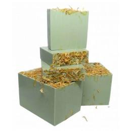 Jabón solido camomila/glicerina orgánica DEUNAPIEZA