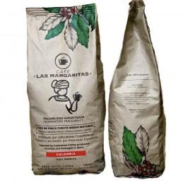 Café de Colombia 100% Arábica en grano 1kg