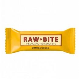Raw bite chocolate y  naranja 50gr