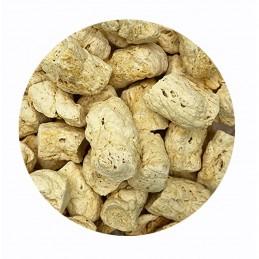 Proteína texturizada de guisante en trozos a granel (Paquetes)