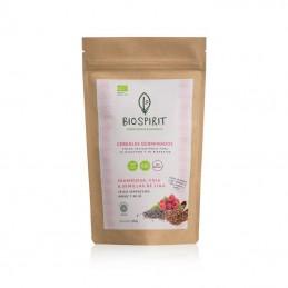 Cereales germinados con frambuesa y lino BioSpirit 250g