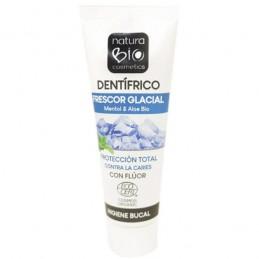 Pasta de dientes frescor glacial anti caries con flúor Natura Bio 75ml