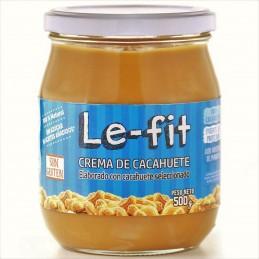 Crema de cacahuete 500gr Le-Fit