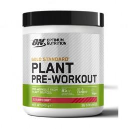 Plant Pre-workout Strawberry 240g Optimum Nutrition