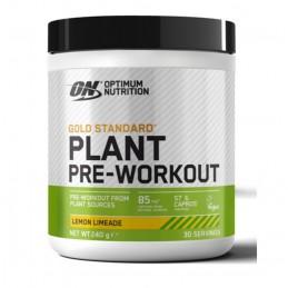 Plant Pre-workout Lima-Limon 240g Optimum Nutrition