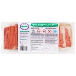 Bacon vegano ahumado...