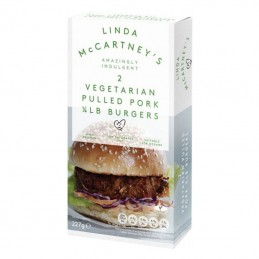 Hamburguesa estilo cerdo Linda McCartney's 227gr