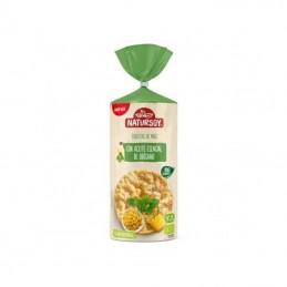Tortitas de maíz con aceite de orégano Natursoy 134g