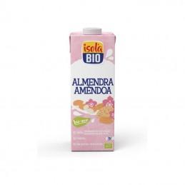 Bebida de almendra con calcio sin azúcar Isola Bio 1L