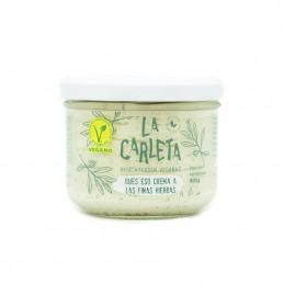 Queso crema a las finas hierbas 200 gr La Carleta
