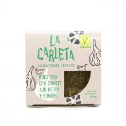 Queso con tomate, ajo negro y romero 200 gr La Carleta
