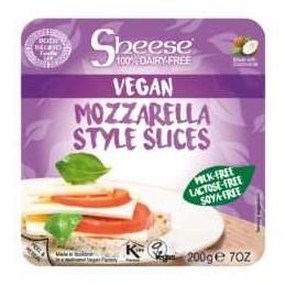 Queso Mozzarella en Lonchas Sheese 200gr