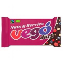 Chocolatina Nuts y Berries Vego 85gr