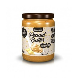 Crema de cacahuete crujiente Quamtrax 500g