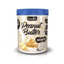 Crema de cacahuete crujiente Quamtrax 1kg