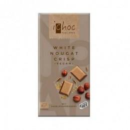 Tableta White Nougat Crisp iChoc 80g