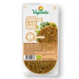 Hamburguesa de trigo sarraceno y alga kombu Vegetalia 160g