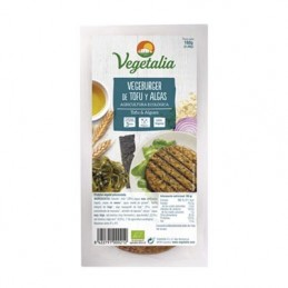 Hamburguesa de tofu y algas Vegetalia 160g
