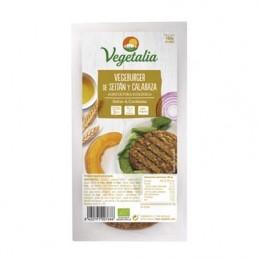 Hamburguesa de seitan y calabaza Vegetalia 160g