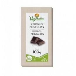 Tableta de chocolate negro 85% Vegetalia 100g