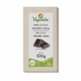 Tableta de chocolate negro 100% Vegetalia 100g