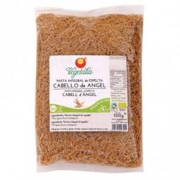 Pasta cabello de angel de trigo integral Vegetalia 500g
