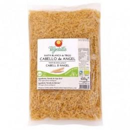 Pasta cabello de angel de trigo blanco Vegetalia 500g