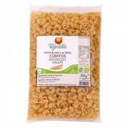 Coditos de pasta de trigo Vegetalia 500g