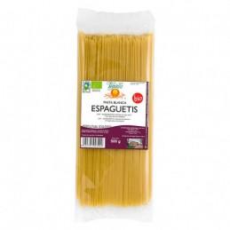 Espaguetis de trigo blanco Vegetalia 500g